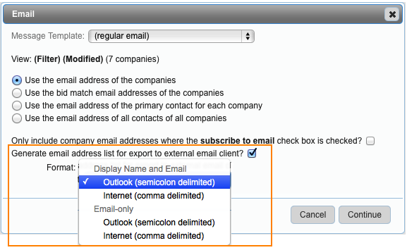 FAQ #n230: How do I send an email from my default email application