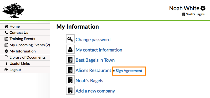Faq N234 How Can I Update My Agreement Text And Then Have My